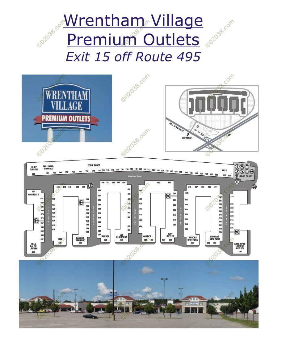Wrentham Premium Outlets Mall