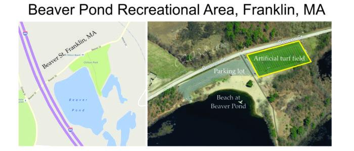 Beaver Pond Recreational Area Franklin MA location
