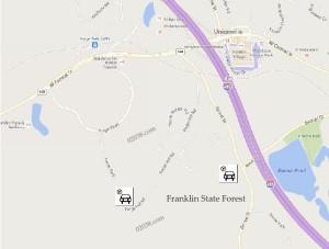 Franklin State Forest Franklin MA parking
