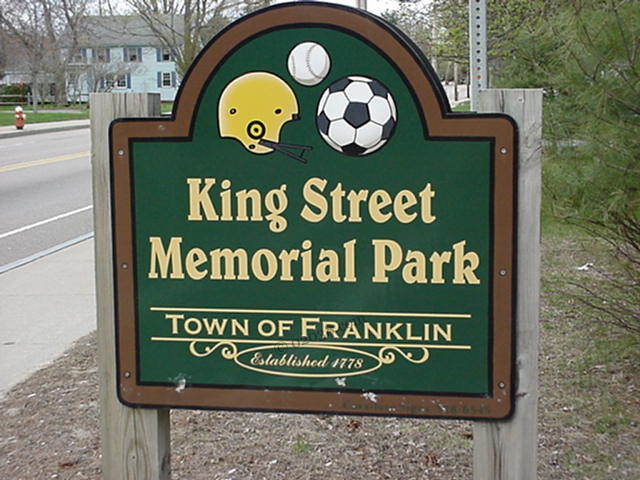 King Street Memorial Park Franklin MA