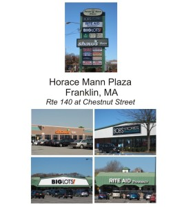 Horace Mann Shopping Franklin MA
