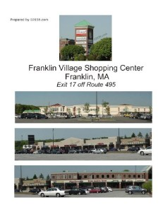 franklin village shopping center Franklin MA