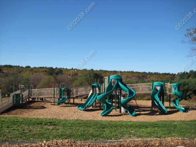 Dacey Fields Playground Franklin MA