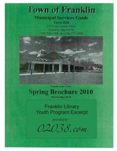 franklin ma library program guide 2010