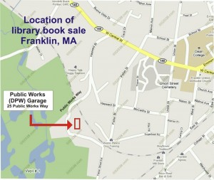 Location library book sale Franklin MA