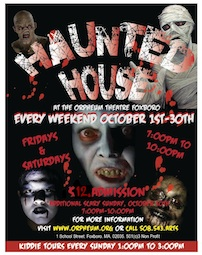 Haunted House Scary Tours