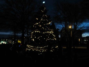 Franklin MA Holiday tree lighting