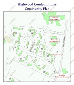 Highwood condominiums - community plan