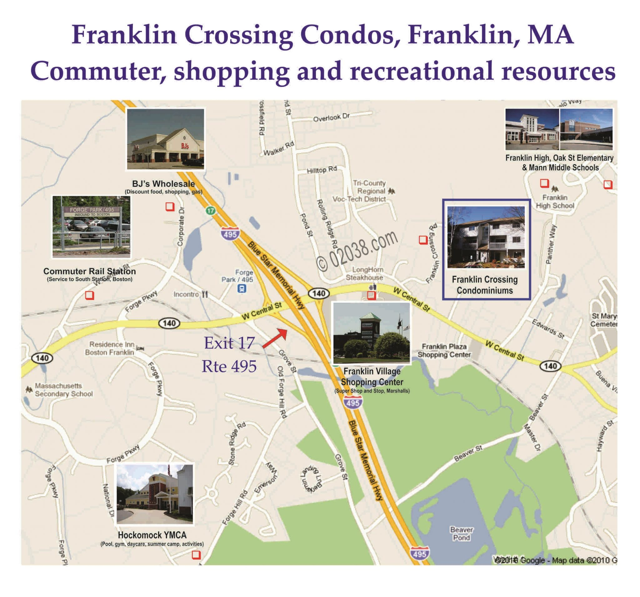 ranklin crossing franklin ma location