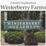 winterberry farms neighborhood franklin ma