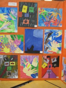 Keller Elem School Franklin MA art show-2