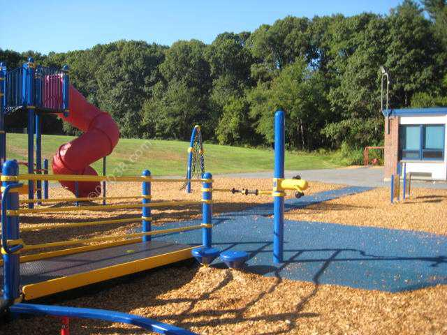 Kennedy Elementary School Franklin MA  - new playground