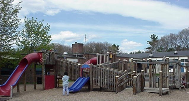 Kennedy Elementary School Franklin MA  - old playground