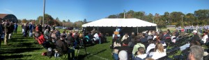 New Franklin MA High School ground breaking 1