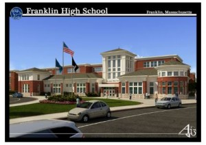 New Franklin MA High School ground breaking 5