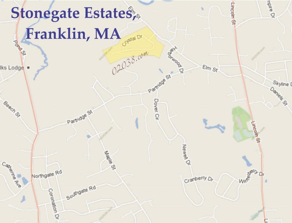 stonegate estates franklin ma map1