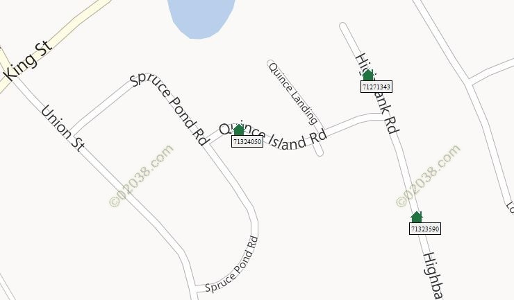 spruce pond franklin ma 2012 sales map