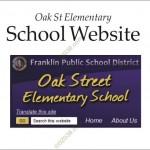 Oak Street School Franklin MA website