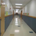Oak Street Elementary School Franklin MA - hallways