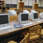 Oak Street Elementary School Franklin MA - media center
