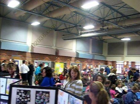 Cafetorium Keller Elementary School Franklin MA