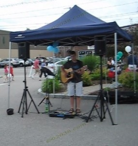 Franklin MA Strawberry Stroll - music