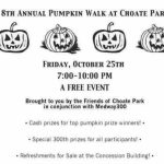 Medway MA pumpkin walk