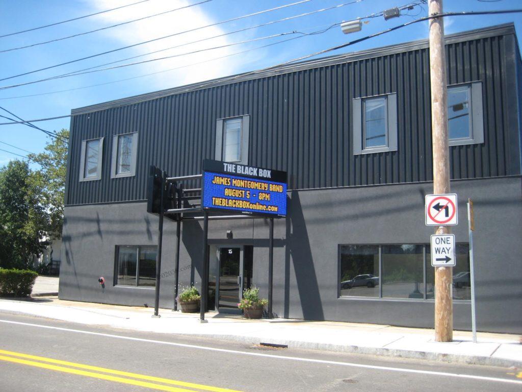Black Box Theater Franklin MA new facade 1