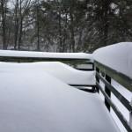snow damages decks