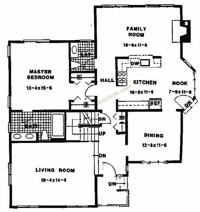 Chestnut Ridge Condos Franklin MA - first floor master bedroom