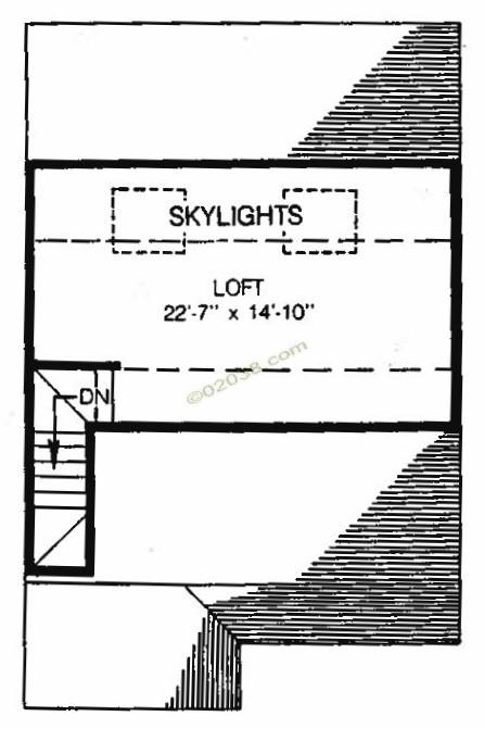 Stone Ridge condos Franklin MA - loft