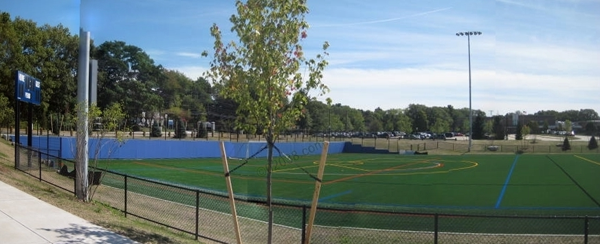 Franklin MA High School ball fields6
