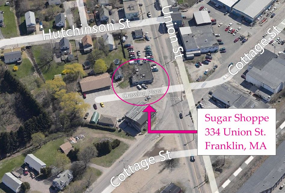 sugar shoppe franklin ma map
