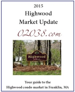 Highwood Condos Franklin MA - sales report cover