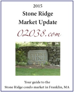 Stone Ridge condos Franklin MA - 2015 report cover