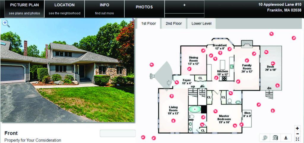 10 Applewood Franklin MA floor plan