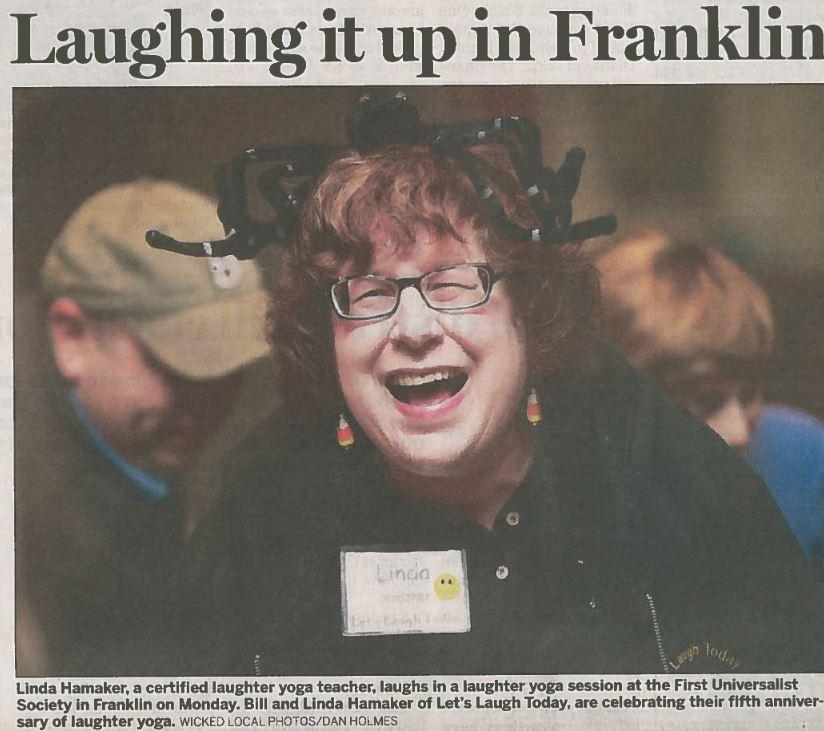 Frankln Cultural Festival Franklin MA laugh