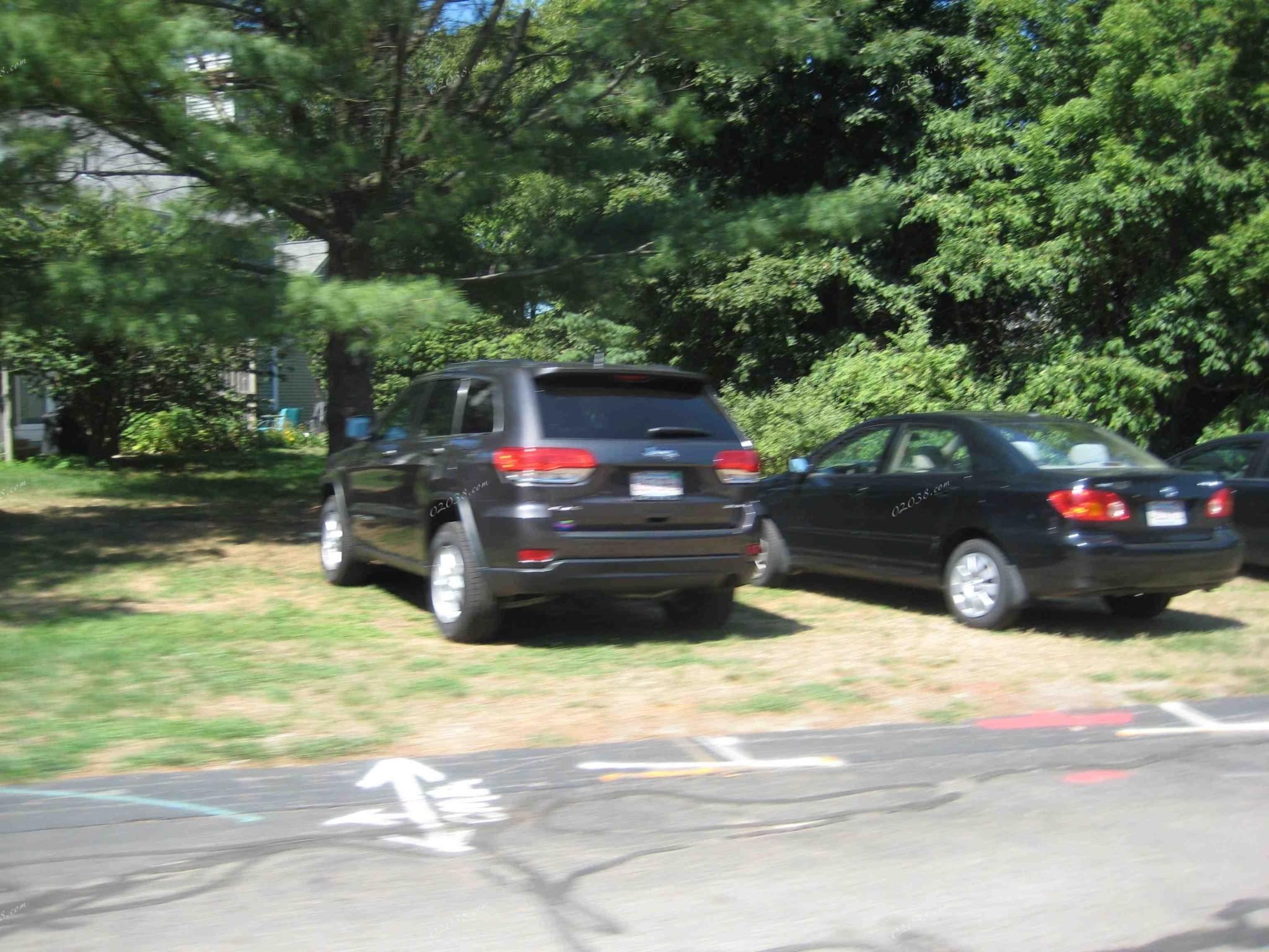 Stone Ridge Condos Franklin MA 02038 - temporary parking