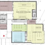 Franklin Library Franklin MA 2016 - addition floor plan