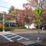 new sidewalks Franklin MA