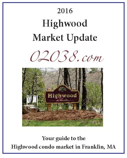 Highwood Condos Franklin MA - full sale report 2016