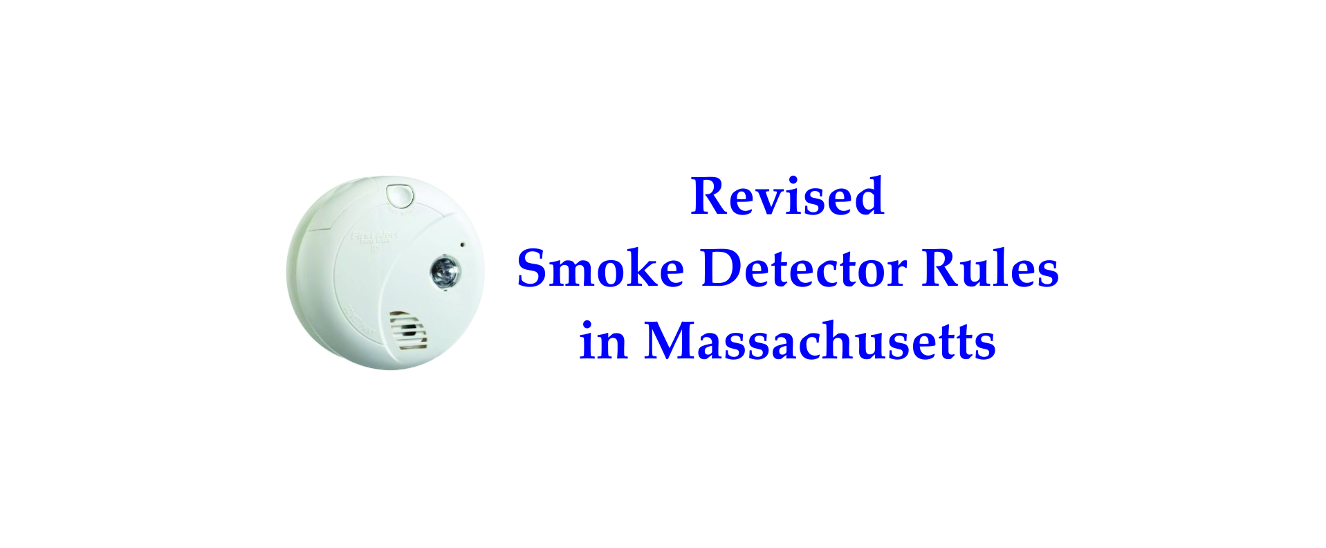Revised MA smoke detector rules refreshingly simple | Franklin, MA ...
