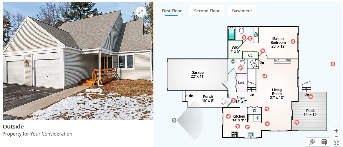 Blandford Homes Floor Plans: Franklin, MA Townhouse With First Floor Master