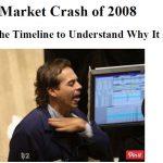 US stock market crash recession