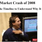 US stock market crash recession