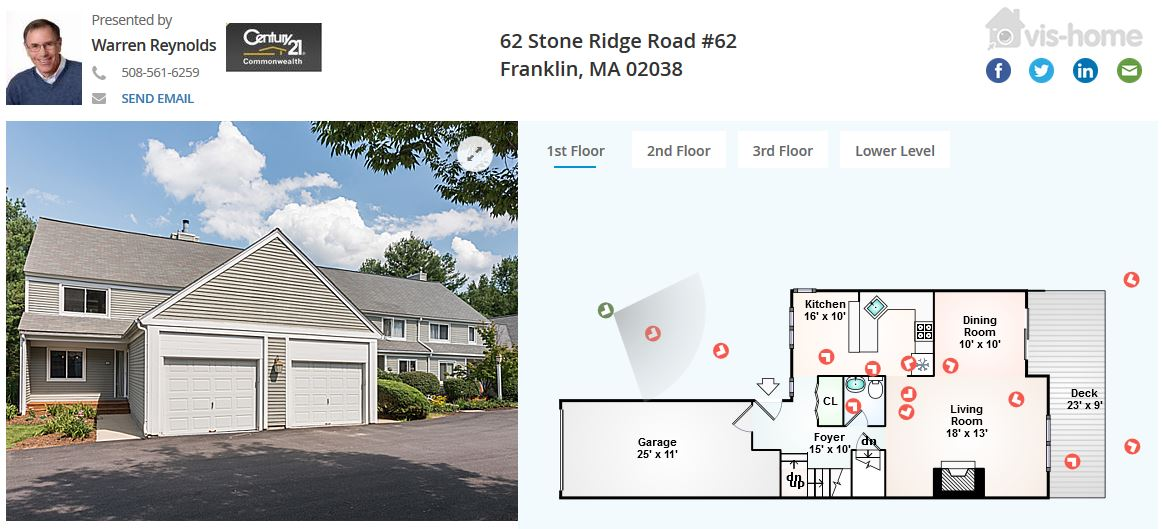62 Stone Ridge Road Franklin MA