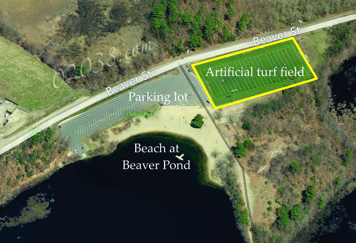Beaver Pond Recreation Area Franklin MA - turf field
