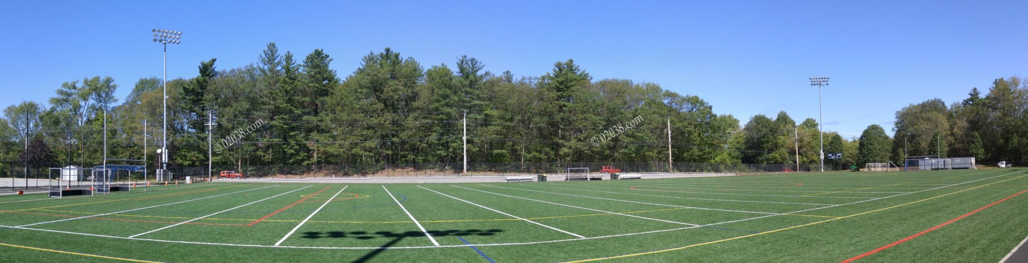 Beaver Pond Recreation Area Franklin MA - turf field new