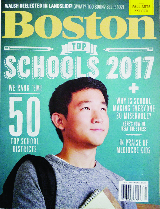 Boston Magazine 2017 school rankings
