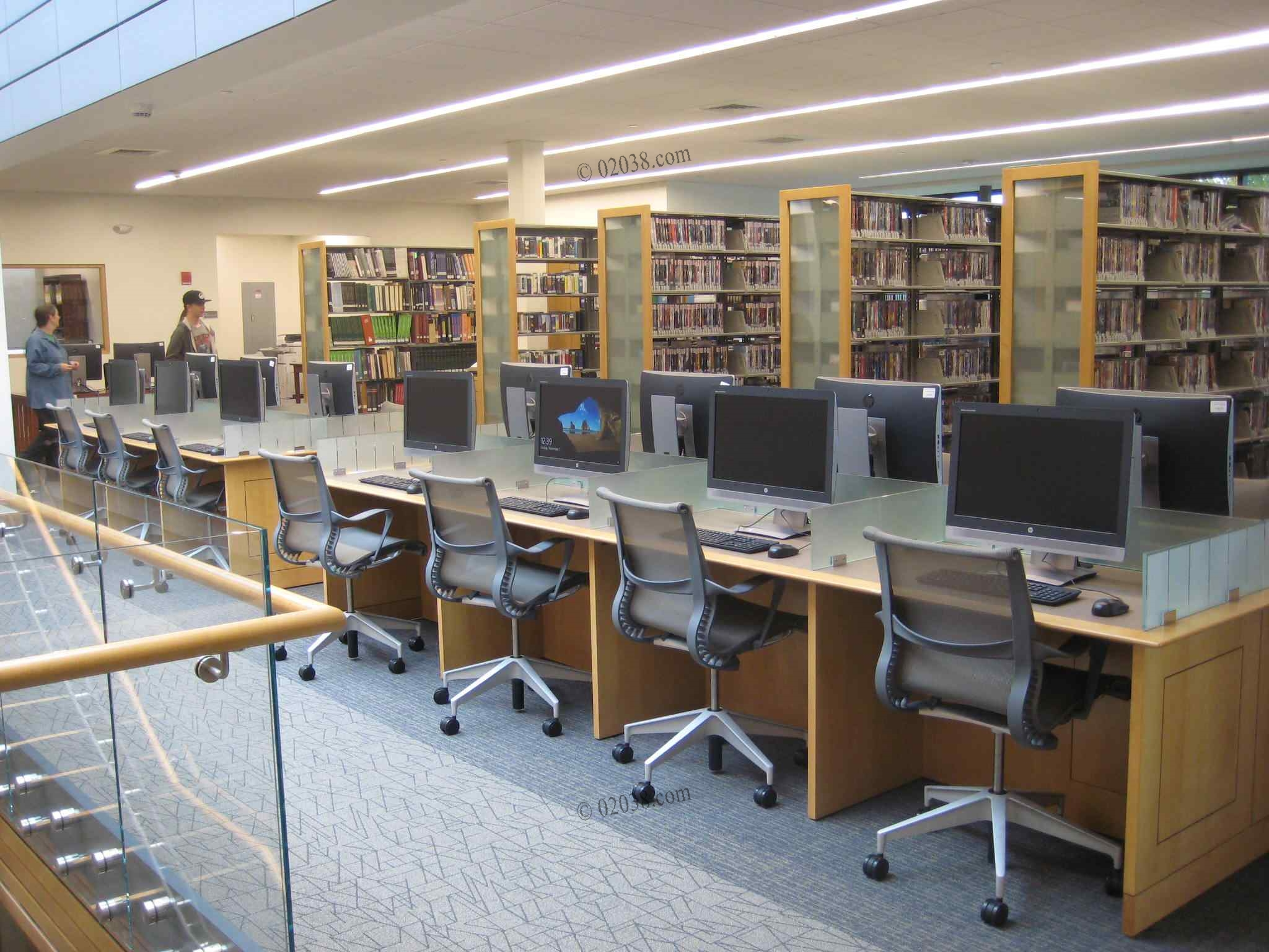 Franklin MA Public Library looking great after expansion